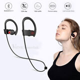 Sport Headset Wireless Bluetooth Headphone Stereo Earphone for Samsung iPhone LG