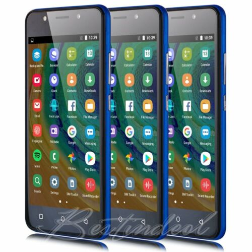 """Android Phone - Unlocked 5.0"""" Quad Core Android 8.1 Cheap Mobile Cellphone Smart Phone GPS WIFI"""
