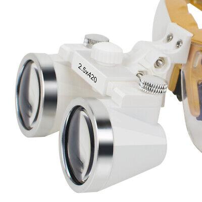 Dental Clinic Surgical Magnifier Binocular Loupes 2.5x420mm Dentist Glasses Sale