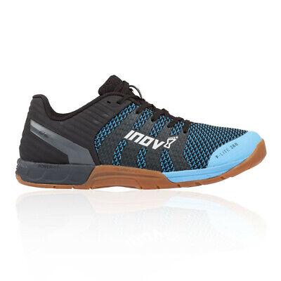 Inov8 Mens F-Lite 260 Knit Training Gym Fitness Shoes Blue Sports Breathable