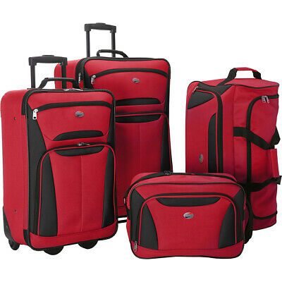 American Tourister Fieldbrook II 4-Piece Nested Luggage Luggage Set NEW Luggage