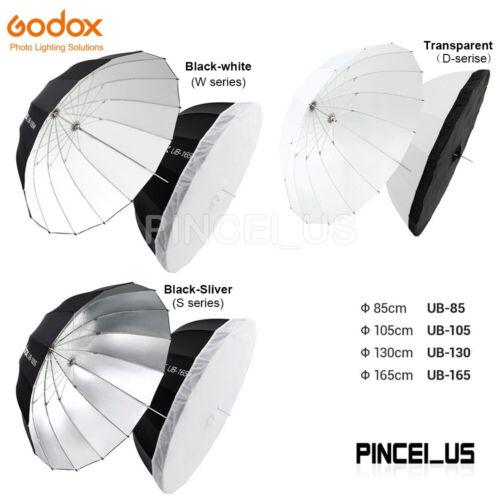 Godox Parabolic Umbrella Reflective Umbrella UB-165S UB-130S UB-105S UB-85S