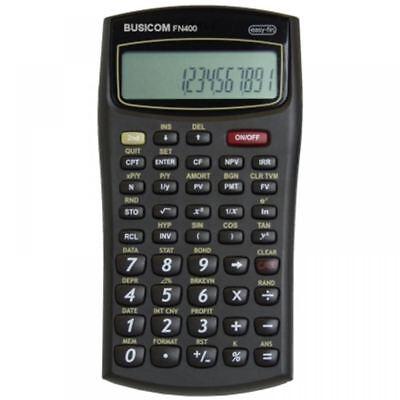 Busicom Scientific Calculator Big Display Financial Business Office School FN400
