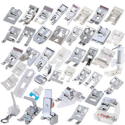 42PCS Máquina de coser Prensatelas Kit de herramientas de pies para hogar