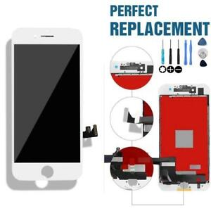 "ECRAN COMPLET POUR IPHONE 7 4.7"" LCD DISPLAY TOUCH SCREEN DIGITIZER ASSEMBLY REPLACEMENT SCREEN WHITE/BLACK/BLANC/NOIR"
