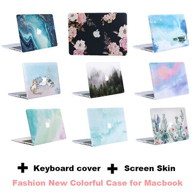 Rubberized Shell Case for Macbook Pro 13 Retina Air 13.3 Laptop Cover 2012-2015