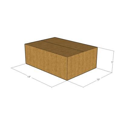 15 New Corrugated Boxes - Size 14 X 10 X 5 - 32 Ect
