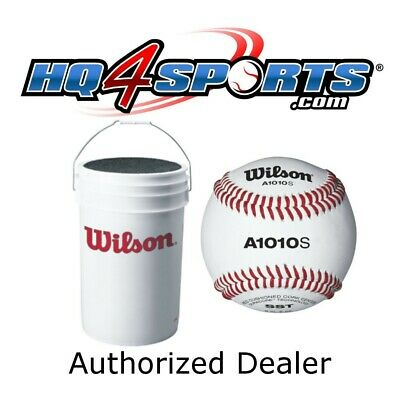 2 X Wilson A1010S Leather Baseballs 9 in 5 oz