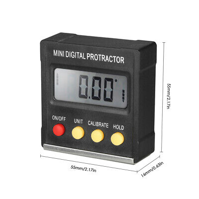 Magnetic Digital Level And Angle Finderinclinometerbevel Gauge Lcd Magnet