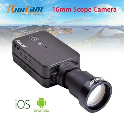 HD 1080P WiFi FPV Camera Scope Video Recorder 16mm Metal 180° APP For RC Drone