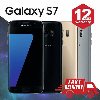 ☀️Samsung Galaxy S7 32GB Android Unlocked Mobile Phone Varies Colors