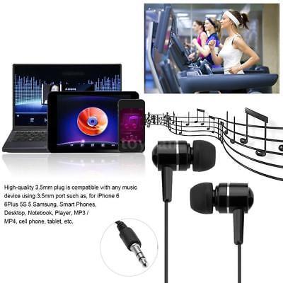 3.5mm Super Bass Stereo In-Ear Kopfhörer Musik Headset Für Handy PC MP3 MP4 L9E8 Mp3 Mp4 Stereo Kopfhörer