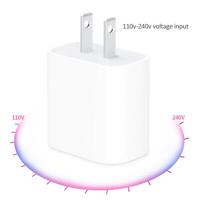 18W PD Fast Charger USB-C Power Adapter For Apple iPhone 11 Pro Max XR Xs