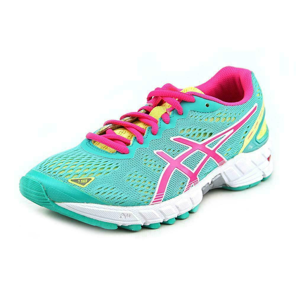 buy popular eca8d c1ddb ASICS Women Gel-ds Trainer 19 Running Shoes Sz 8 T455n Emerald Pink Lime