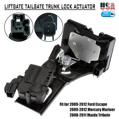 Ford Tailgate Locks - Liftgate Tailgate Trunk Lock Actuator for 09-12 Ford Escape Mariner 9L8Z7843150B