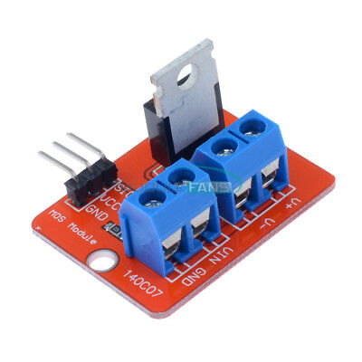 2510pcs Mosf Button Irf520 Mosfet Driver Module For Arduino Arm Raspberry Pi