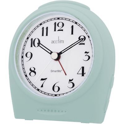 Acctim Sweeper Broadway Smartlite Light And Snooze Alarm Clock White