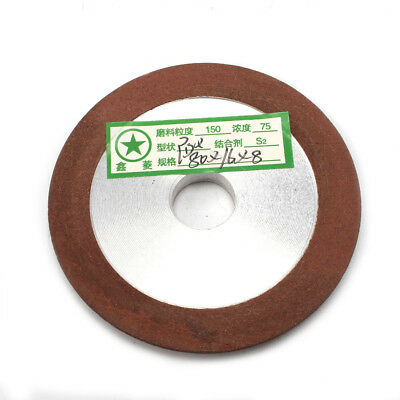 80mm Diamond Grinding Wheel Cup 150 Grit Cutter Grinder For Carbide Metal