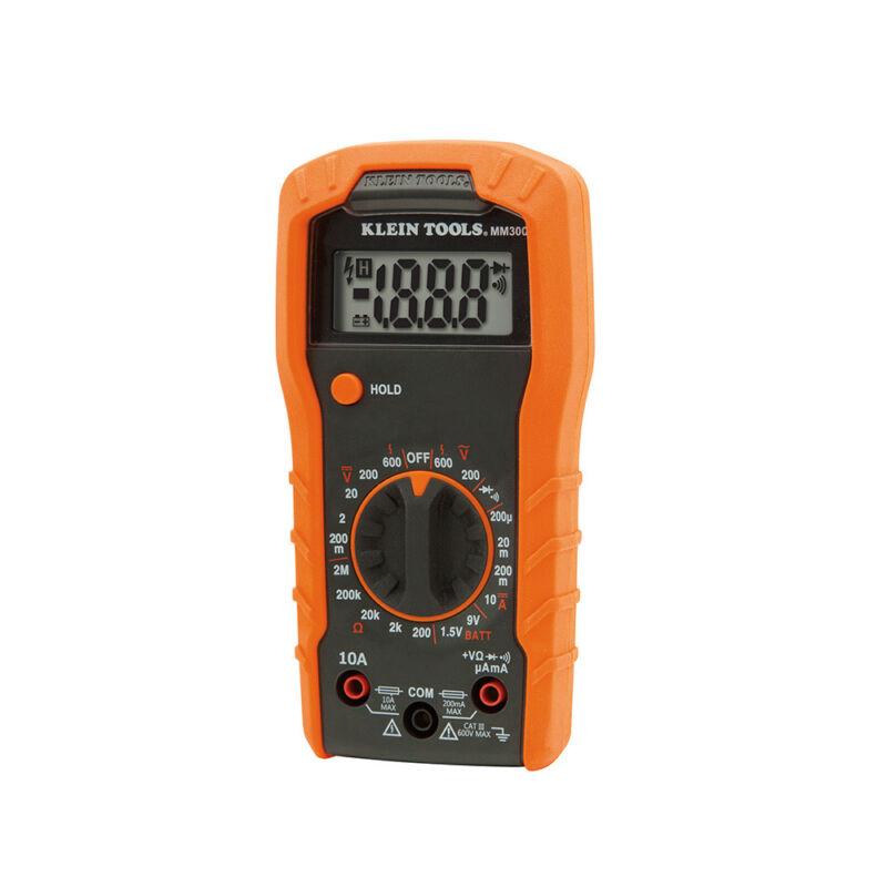Klein Tools MM300 Manual-Ranging 600V Digital Multimeter