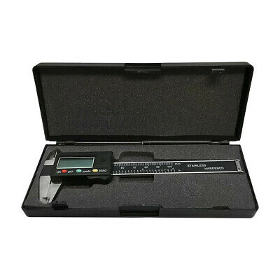 4 Inch Digital Caliper Ruler Vernier 100mm Stainless Harden Gauge Gage