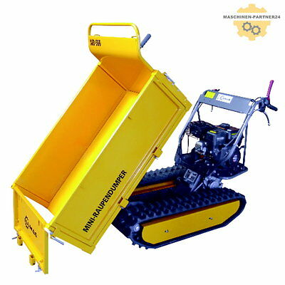 LUMAG Raupendumper Dumper Minidumper Motorschubkarre  MD500 - NEUES MODELL!!!