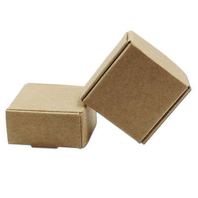 Brown Kraft Paper Gifts Candy Box Party Jewelry Favour Wedding Packaging Boxes