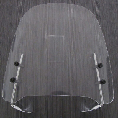 Gy6 Scooter Moped Dirt Bike Motorcycle Windshield Screen For Yamaha Honda Clear ()
