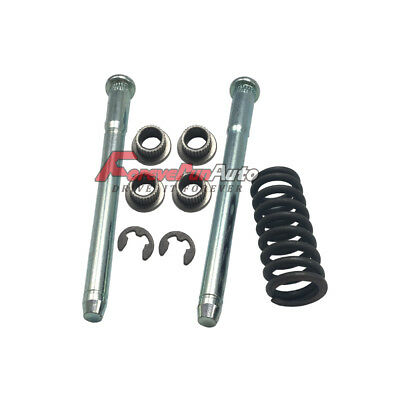 Front or Rear Door Hinge Pin with Spring and Bushing Kit for 94-04 Chevrolet S10