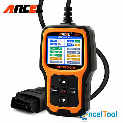 Ancel Ad410 Obdii Code Reader Check Engine Light Auto Scanner I M Readiness Diag