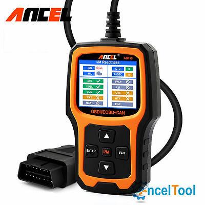 AD410 OBD Car Code Reader Check Engine Light Auto Scanner I/M Readiness Diag