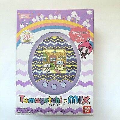 Bandai Tamagotchi m!x Spacy Mix Ver. Purple Free Shipping
