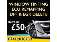 PROFESSIONAL CAR WINDOW TINTING, ECU REMAPPING, DPF & EGR DELETE!