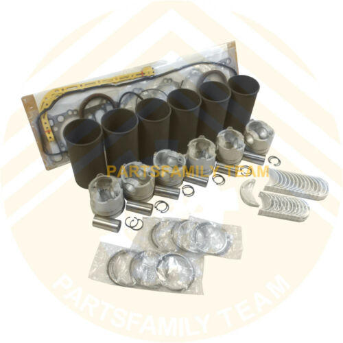 6rb1 Engine Rebuilt Kit For Isuzu 6rb1t Hitachi Ex400-1 Ex400-5 Digger And Crane