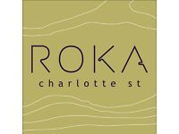 ROKA charlotte street - Waiter