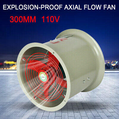 12 Explosion-proof Axial Flow Fan 110v Explosion-proof Exhaust Fan
