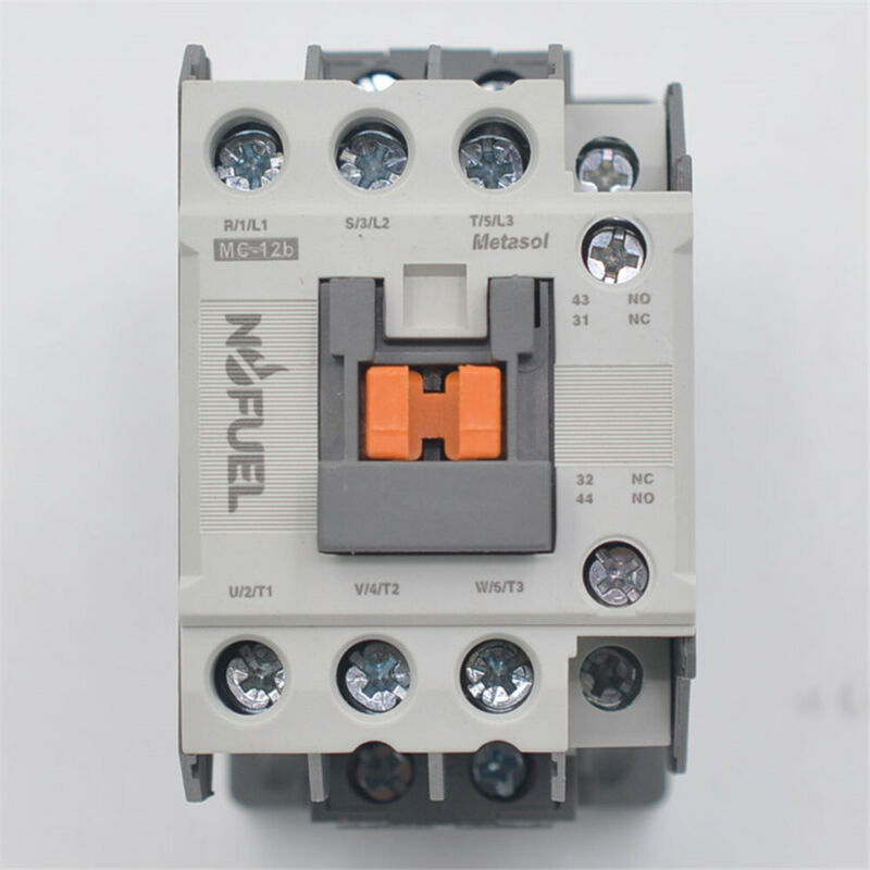 MC-12B AC contactor 120V 12A Direct Replacement for LS IS MC AC contactor MC-12b