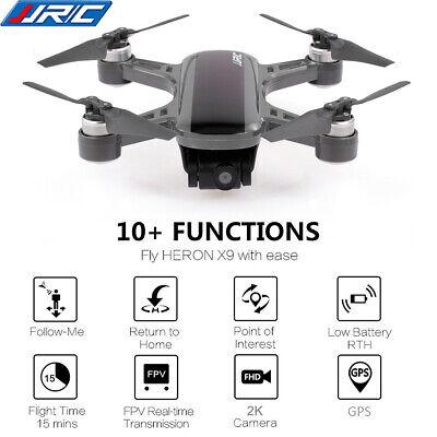 JJRC HERON X9 GPS 5G WiFi FPV RC Drone Aircraft 2K Camera Quadcopter RTF Q8Z5