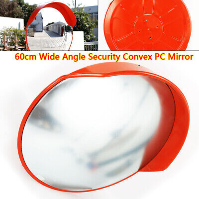 24 Outdoor Safety Convex Pc Mirror Road Traffic Wide Angle Driveway Security