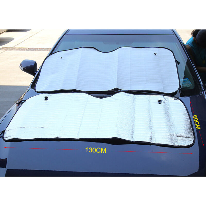 2 MAGNETIC CAR WINDSCREEN COVER FROST SHIELD FITS NISSAN QASHQAI 2007-DATE