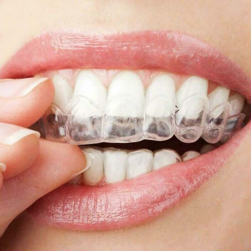 Silicone Tray Care Dental Orthodontic Teeth Corrector Braces Retainer Straighten Health & Beauty