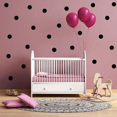 - vinyl Poka dots pick size and color Wall Decals for Nursery, Kids Room, Mirrors