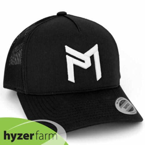 DISCRAFT PAUL MCBETH PM LOGO TRUCKER SNAP BACK HAT *pick color* Hyzer Farm disc