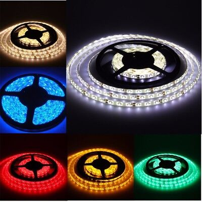 32FT SMD5050 RGB Color Changing 600LED Flexible Strip Light Non-Waterproof 120W