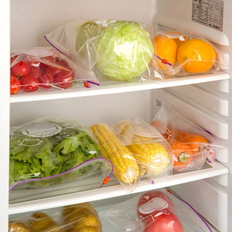 Latest Food Storage Bags Preservative Clear Vacuum Sealer Pratical Pouches 100PC