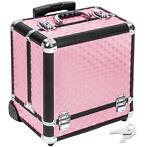 Cosmetica koffer trolley make-up beautycase 401444