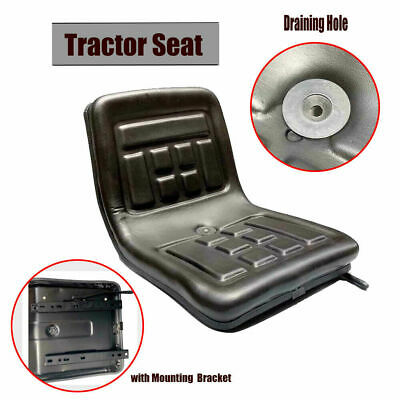 Tractor Seat With Back Rest Slidable Waterproof For Mini Digger Mower Forklift