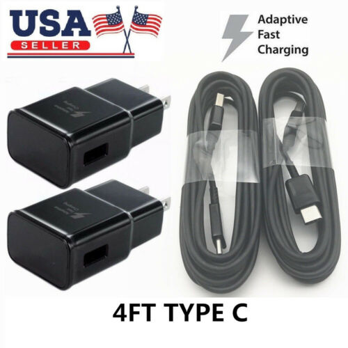 Fast Wall Charger Plug USB C CableFor Samsung Galaxy Note 9