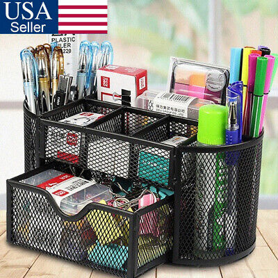 Mesh Metal Office Supplies Desktop Table File Desk Organizer Holder For Desk Usa