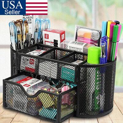Mesh Metal Office Supplies Desktop Table File Desk Organizer Holder For Desk Usa