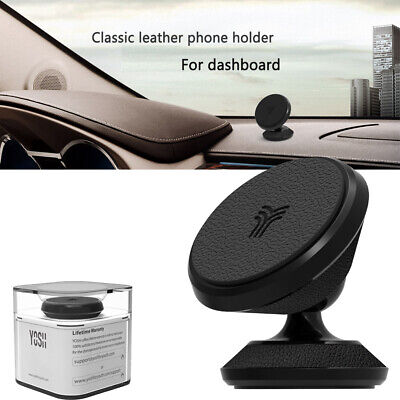 YOSH Universal Magnetic Car Phone Holder Dashboard GPS Fr Samsung S9 iPhone X 11